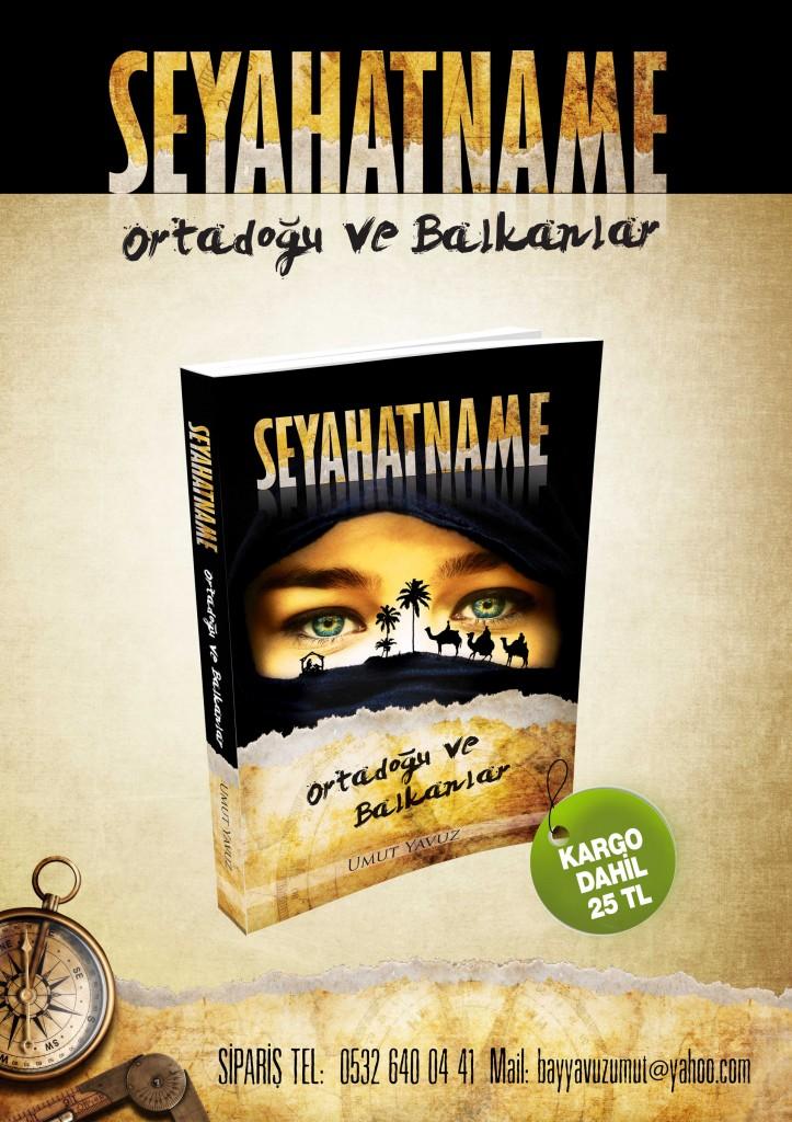 Ortadoğu ve Balkanlar'da 25 ülkeyi kapsayan seyahatlerimizi 2014 yılında Seyahatname: Ortadoğu ve Balkanlar adlı kitabımızda bir araya getirerek yayınlamıştık...